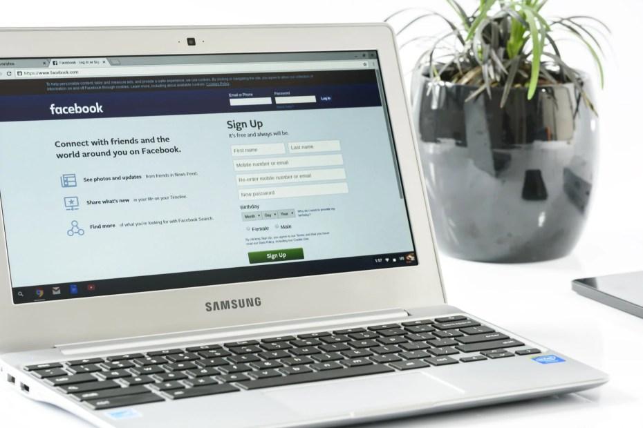 white samsung laptop computer near black ceramic plant vase