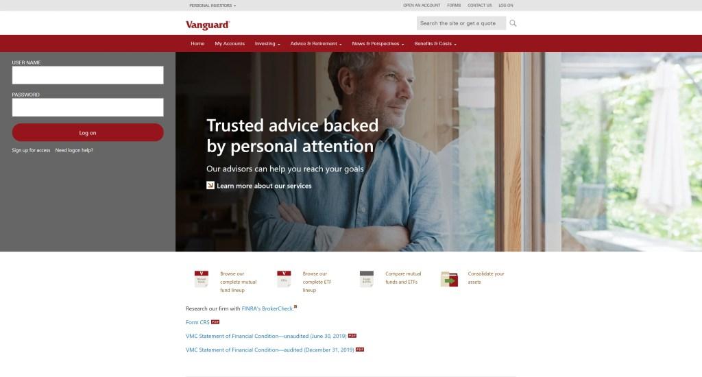 Vanguard Investor Login