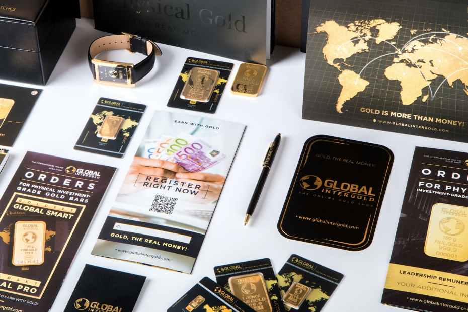 bank business card collection