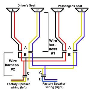 home stereo speaker wiring diagrams 1999 toyota 4runner alternator diagram speakers wire tnscgr danielaharde de fiero holes rh mrmikes com component colors code