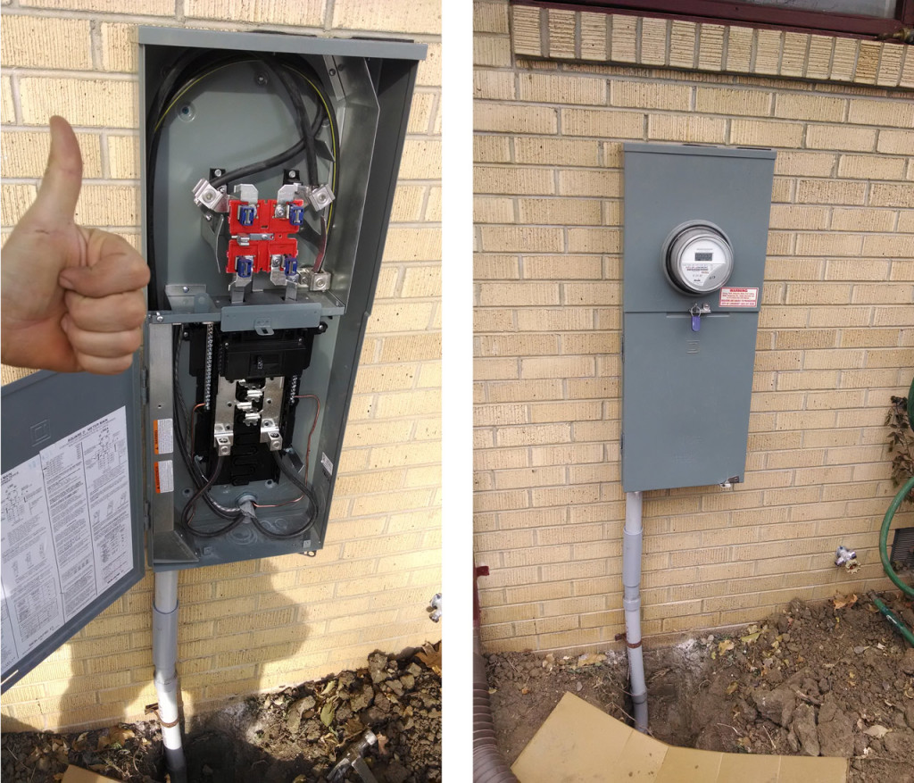 hight resolution of after my spiffy install job is capped by a new digital meter with zero kilowatt