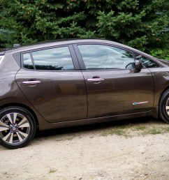 the new ride a 2016 leaf sv in a sweet 70s brown color  [ 1385 x 926 Pixel ]