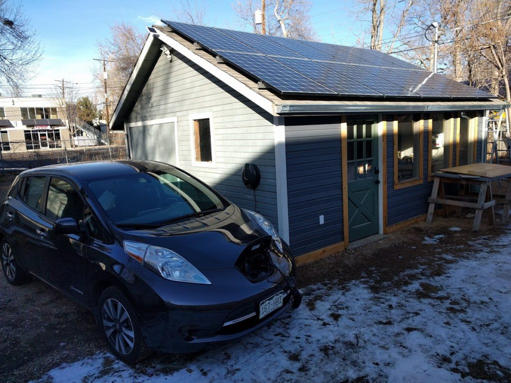 hight resolution of the new solar array at the mmm hq workshop generates more than enough power to run the whole property year round plus charge the electric cars of the