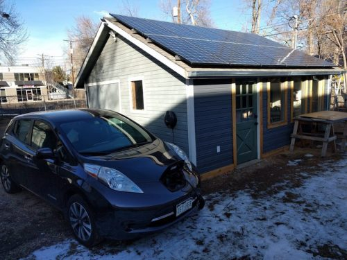 small resolution of the new solar array at the mmm hq workshop generates more than enough power to run the whole property year round plus charge the electric cars of the