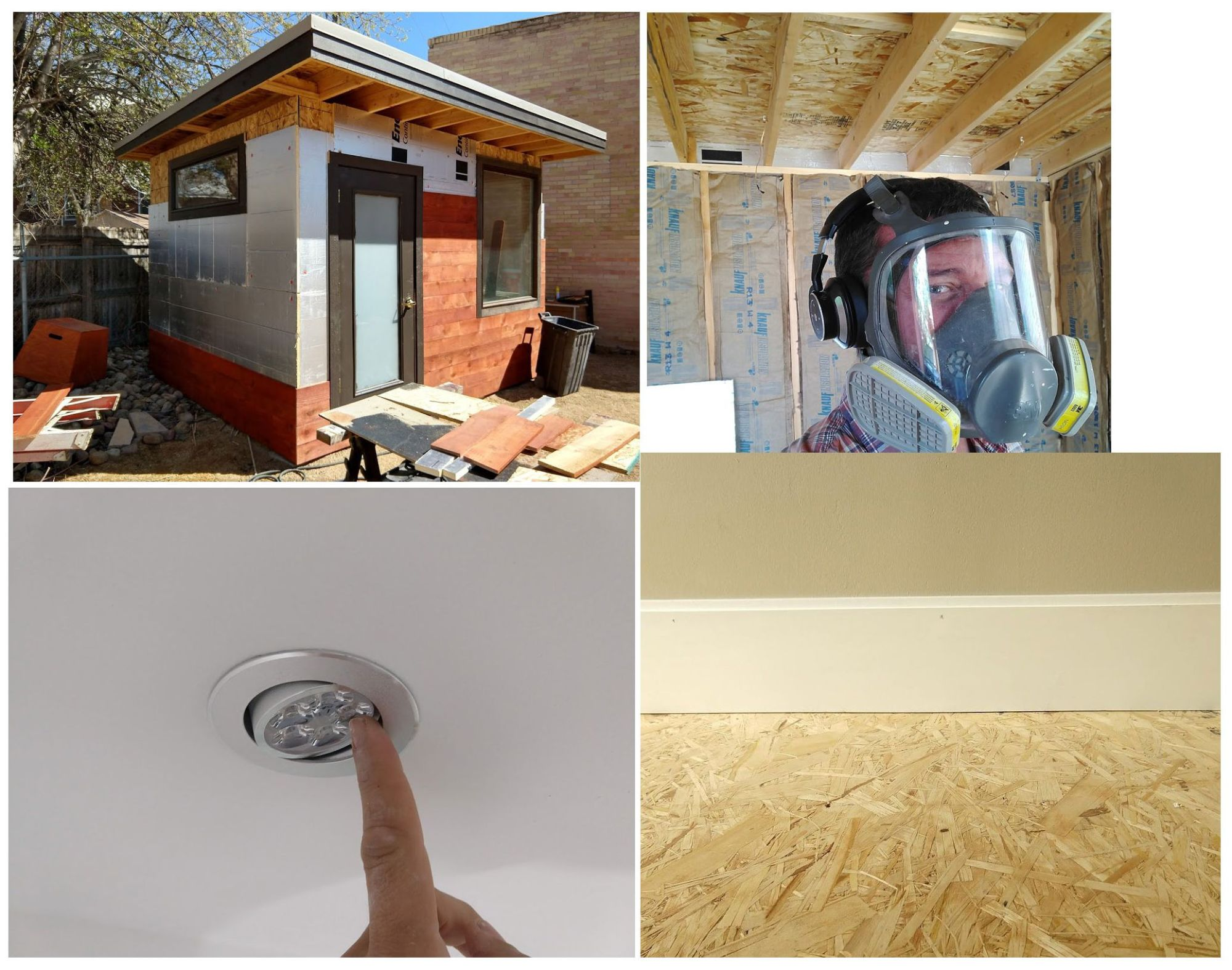 hight resolution of various wall layers revealed insulation lights super frugal wood floor
