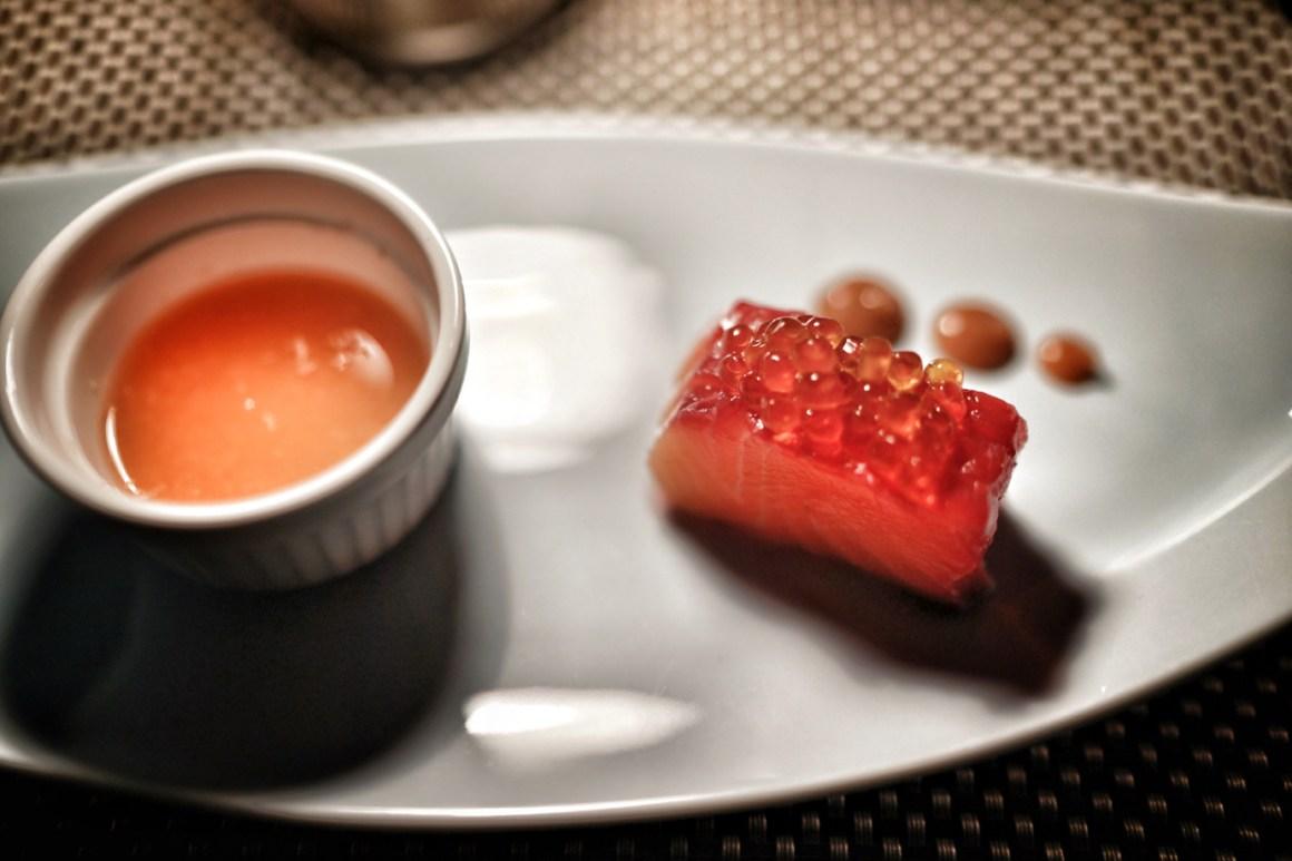 Red Hokkaido Salmon @Koko Grill