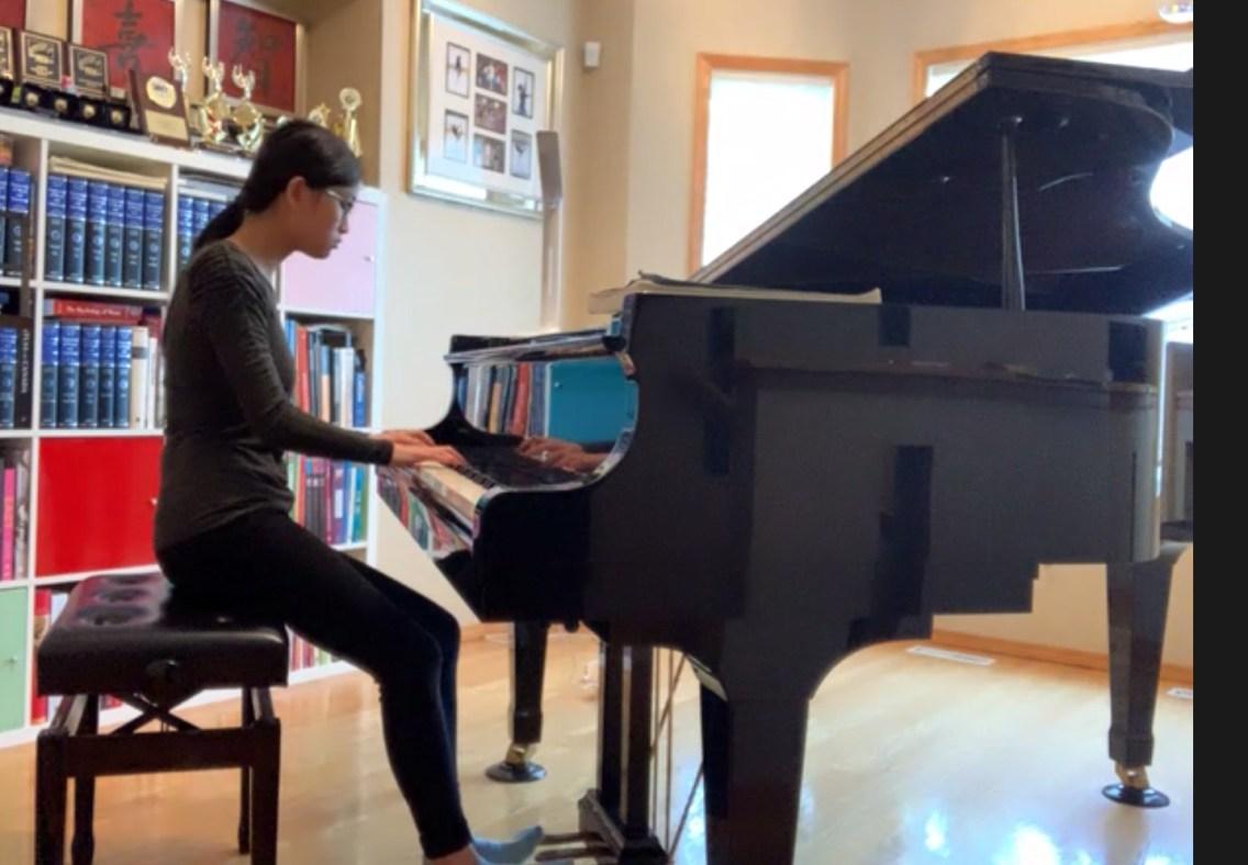 Angela Suet Kee Ng, playing Beethoven