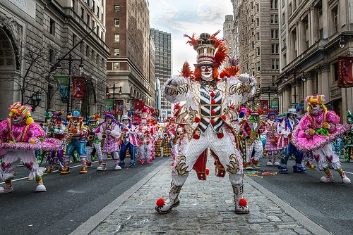 2016 Mummers Parade Route and Start Times  Mr Mummer
