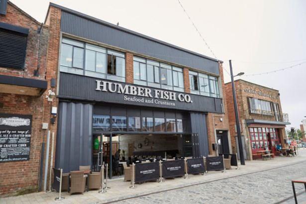 Humber Fish Co Exterior Signage