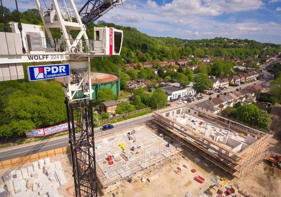 PDR Construction Crane