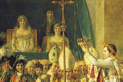 Image result for napoleon self coronation