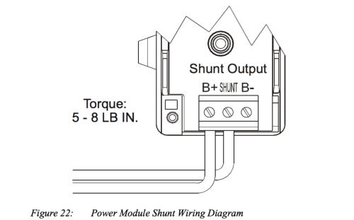 small resolution of internal shunt wiring diagram