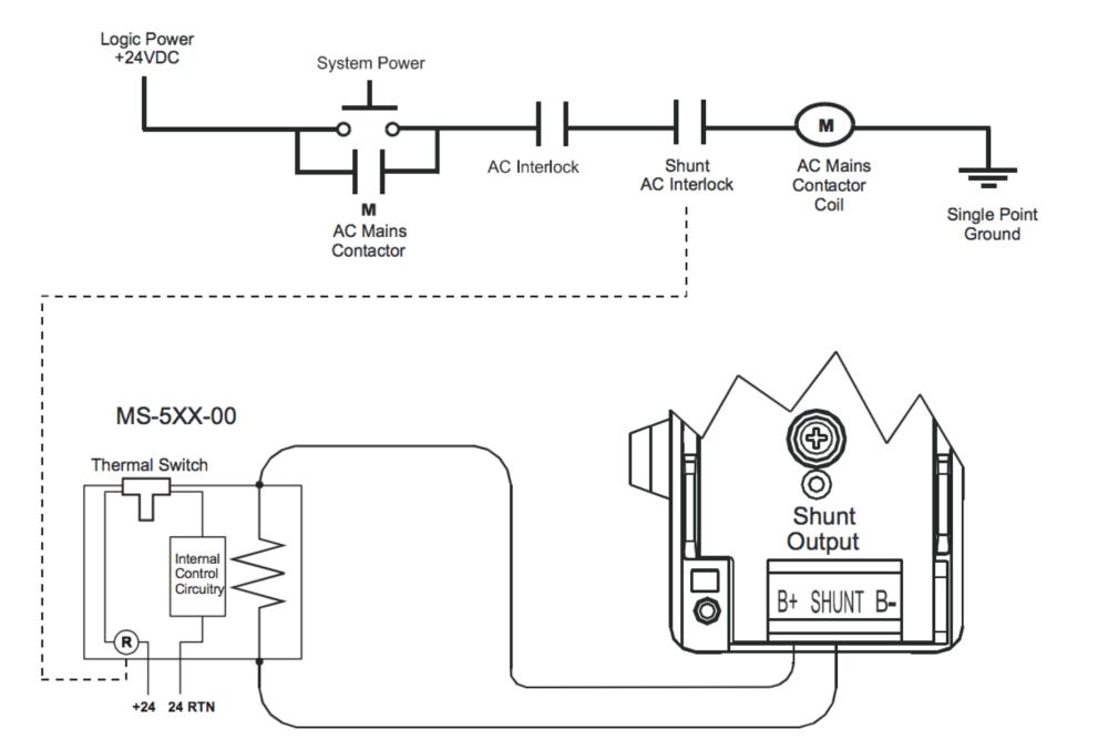 medium resolution of internal shunt wiring diagram