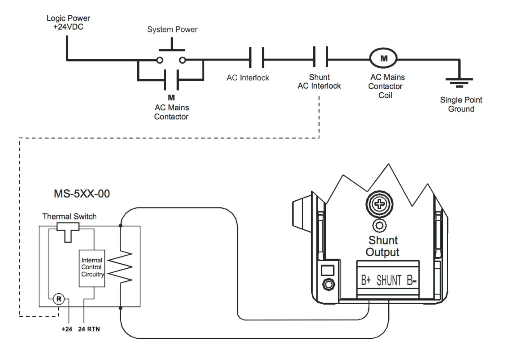 hight resolution of internal shunt wiring diagram