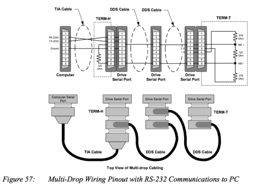 small resolution of multi drop r 422 wiring diagram