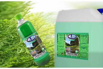 Limpiador multiusos con aceite de pino
