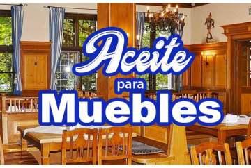 Aceite para muebles