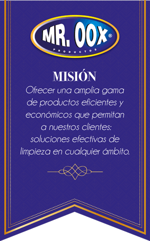 Mision Mr. Oox productos