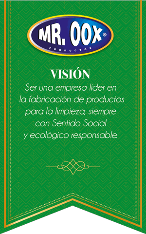 Vision de Mr. Oox productos