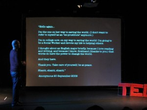 Iain Thomas at TEDx Johannesburg