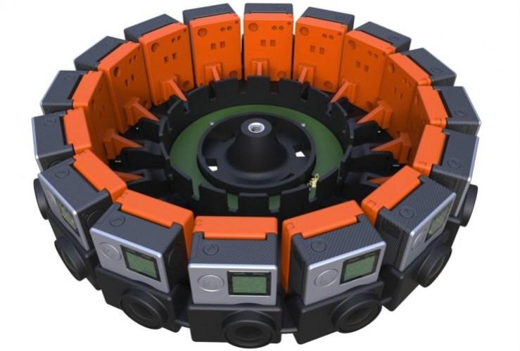 Google's Jump camera rig.