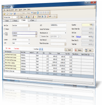 Bill Of Material - ERP Software