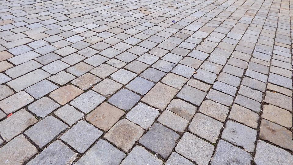 pavers vs stamped concrete mr pavement