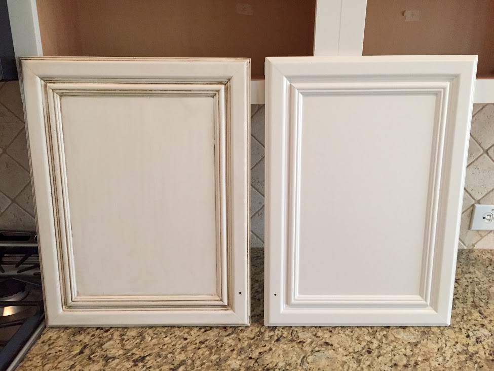 glazed kitchen cabinets narrow sink painting before after mr painter paints and glazing