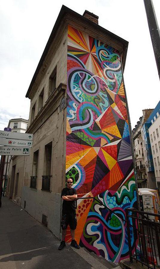 Matt W Moore, imaginative street art, graffiti art, street artists, urban murals, urban art, mr pilgrim art.