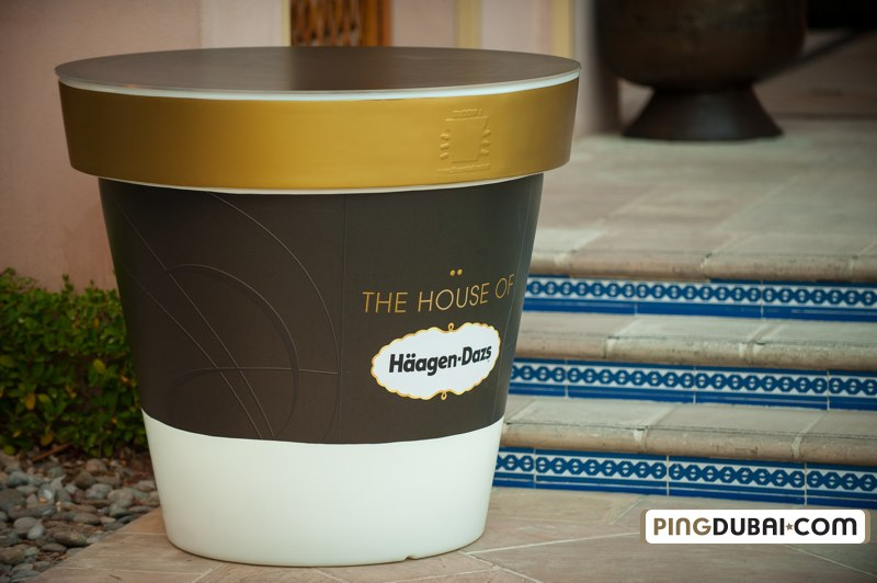 House Of Hagen Dazs Introduced In Dubai