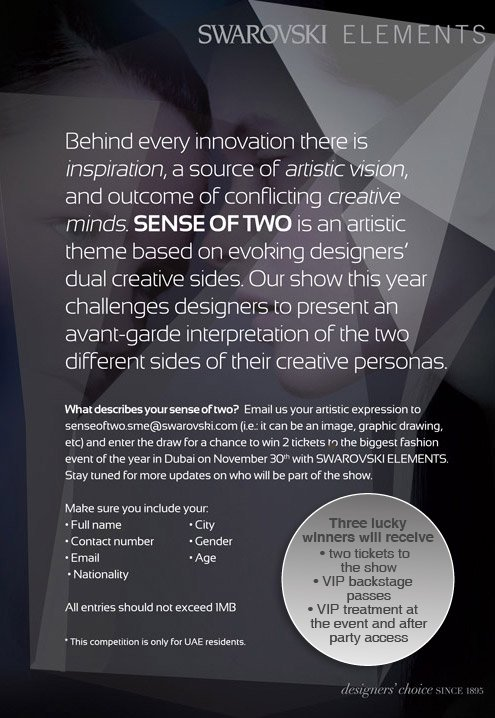 Sense Of Two Express Your Creativity With Swarovski Elements