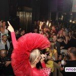 BELVEDERE paints Abu Dhabi Red at Etoiles!