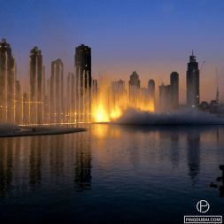 Ping Dubai Fountain