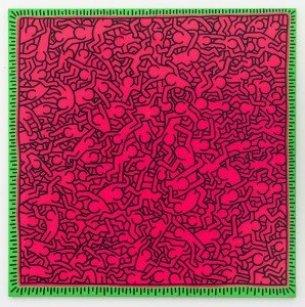 Keith Haring, Untitled, 1984  © Keith Haring Foundation. Courtesy Skarstedt New York/London