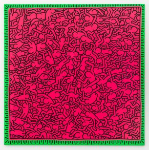 Keith Haring, Untitled, 1984  © Keith Haring Foundation. Courtesy Skarstedt New York/London