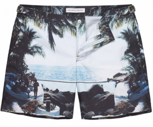 Orlebar Brown Sea You There Photographic Mid-Length Swim Short