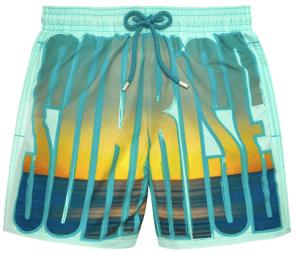 Vilebrequin Sunrise Swimwear Moopea Printed