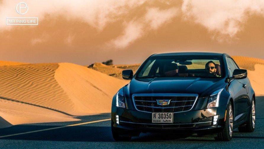 CAdillac ATS Desert Shoot
