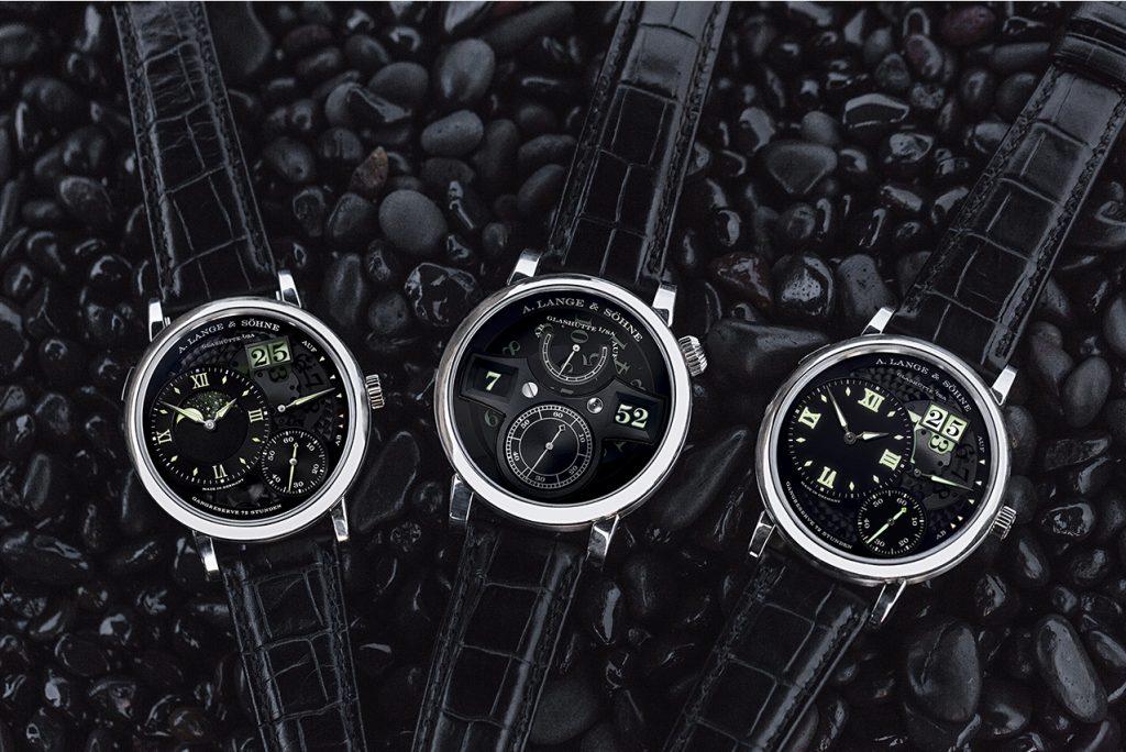 """A. Lange & Söhne's three """"Lumen"""" models"""