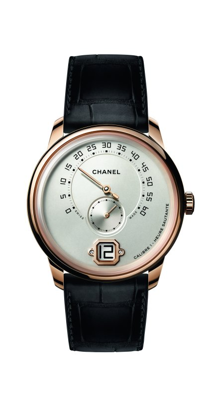 Monsieur de CHANEL watch BEIGE GOLD FB
