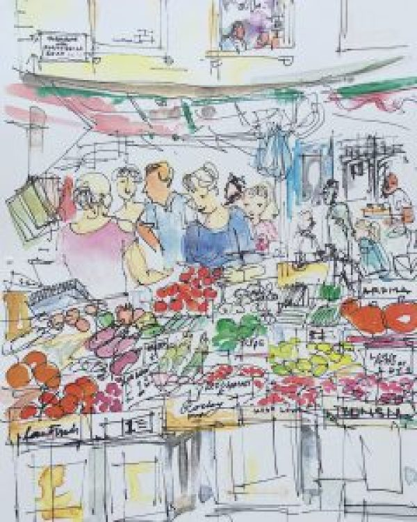 Fruit stall on Portobello Road