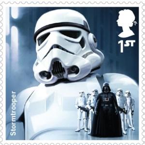 Stormtrooper Royal Mail Stamp