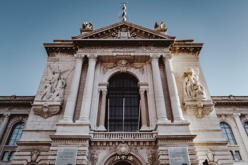 Image of the Oceanographic Museum of Monaco by Mr P Kalu