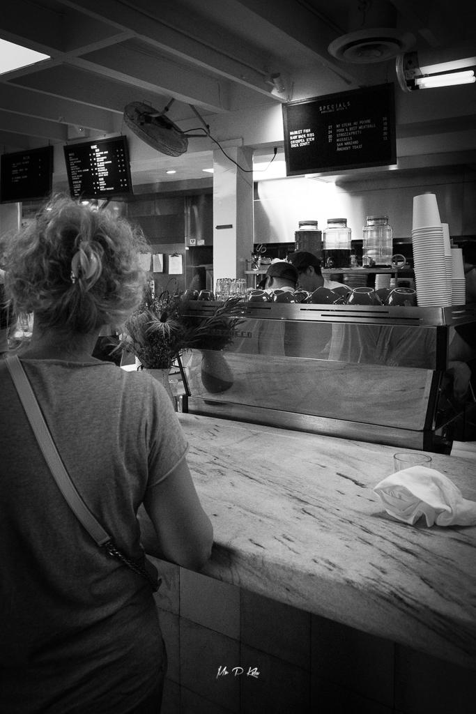 La Marzocco espresso machine in Djusta Venice California