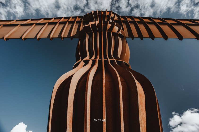 Body of the Angel of the North sculpture in Gateshead