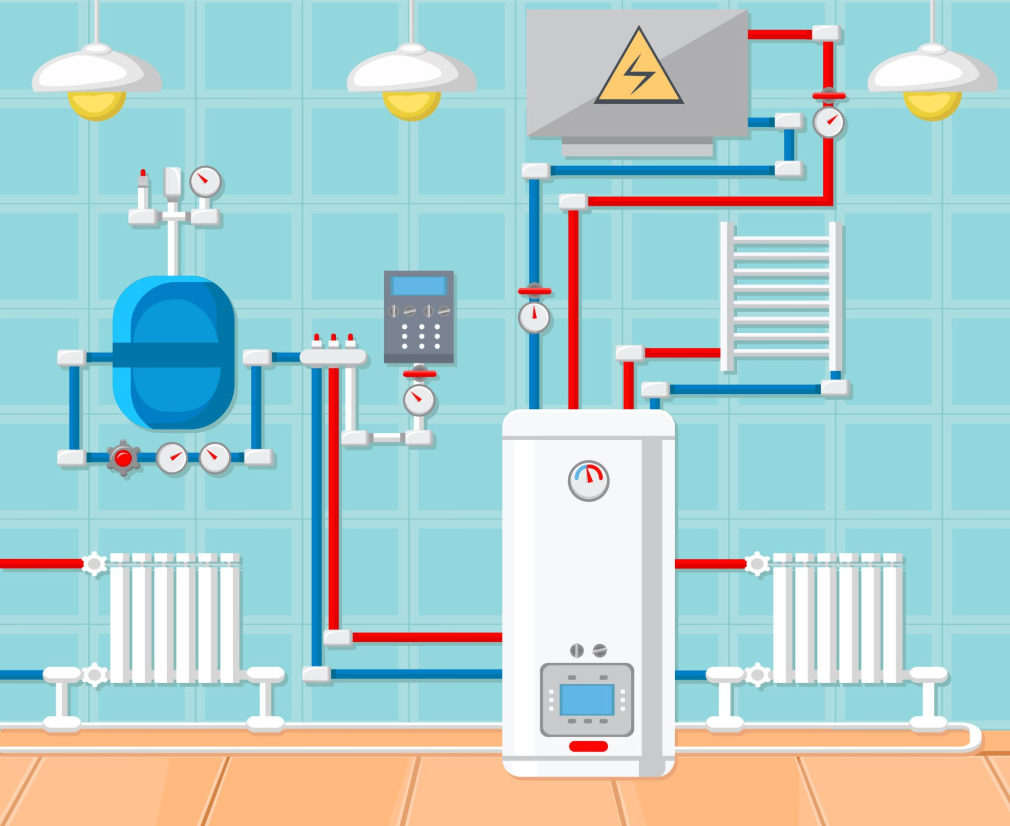 hight resolution of the how to s of a heating system part 1 hot water heating systems