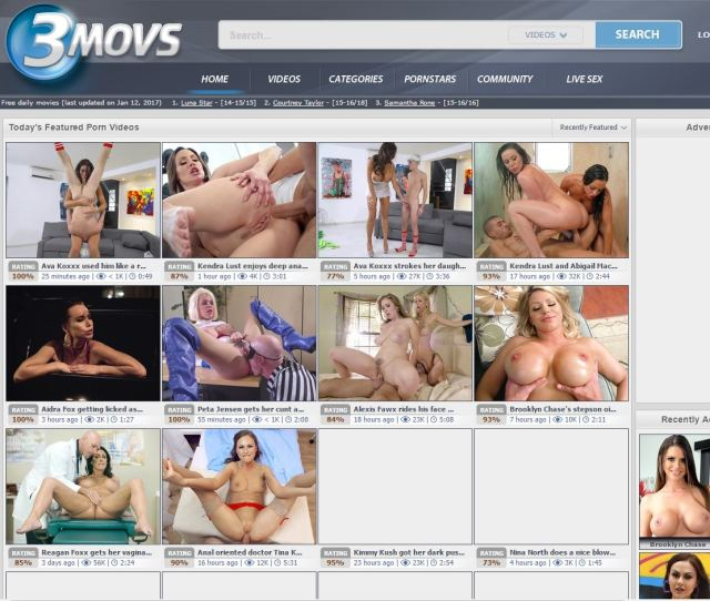Porn Tube Sites 3movs