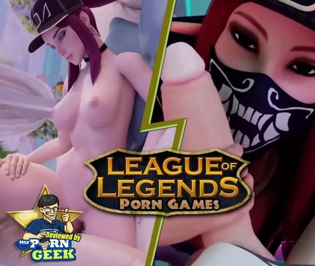 League Of Legends Porn Games Reviewed By Mrporngeek