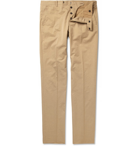 Marni Slim-Fit Cotton-Twill Chinos