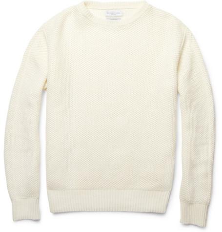 Richard James Knitted Linen Sweater